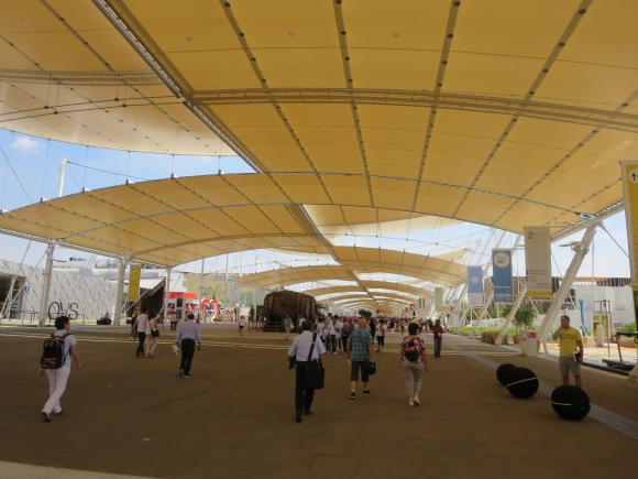 Main street of the Expo.